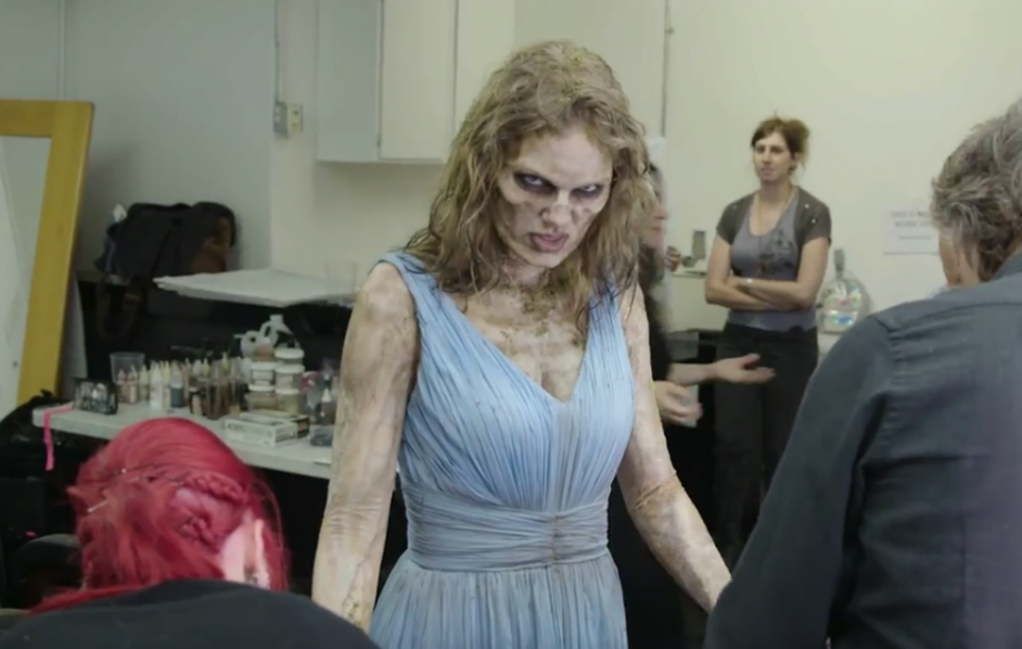 dbbc3424d2fcf3 Watch Taylor Swift transform into a zombie for the  Look What You Made Me Do   video