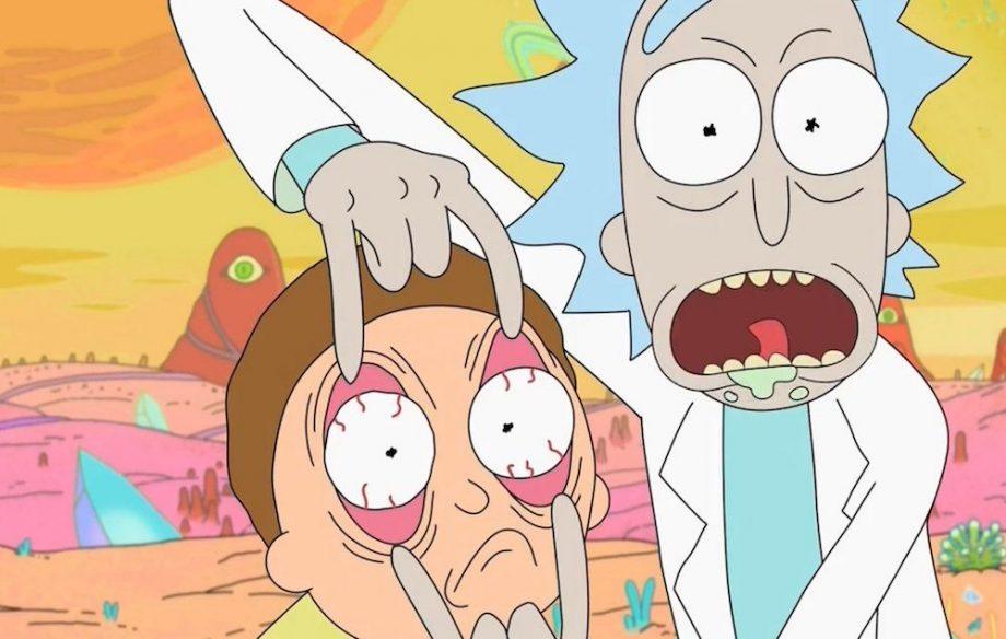 Rick και Μόρτυ καρτούν πορνό
