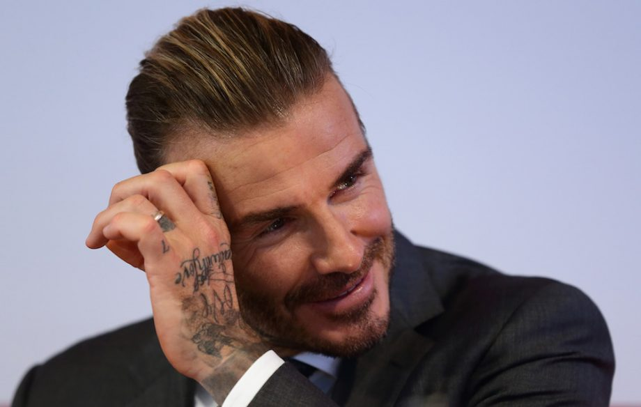 David Beckham Starstruck After Meeting Game Of Thrones