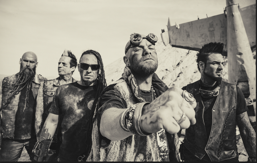 Five Finger Death Punch Unveil Blistering Video For Ain T