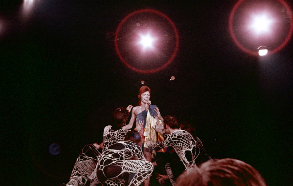 David Bowie live at The Marquee Club