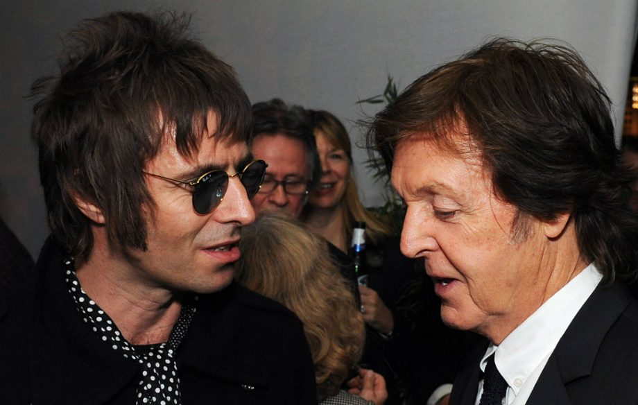 Liam Gallagher And Paul McCartney
