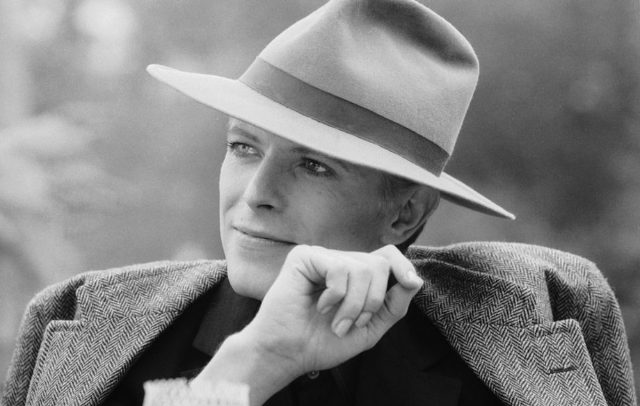 2344044441d 1976  Singer David Bowie wearing a smart hat. (Photo by Terry O Neill Getty  Images)