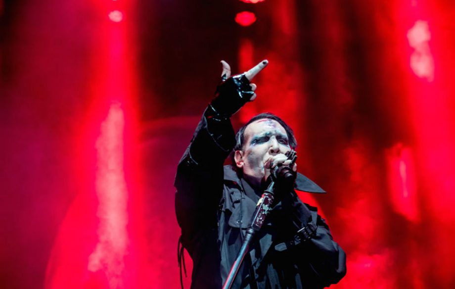 Marilyn Manson fires fake rifle at US concert hours after Texas shooting - NME