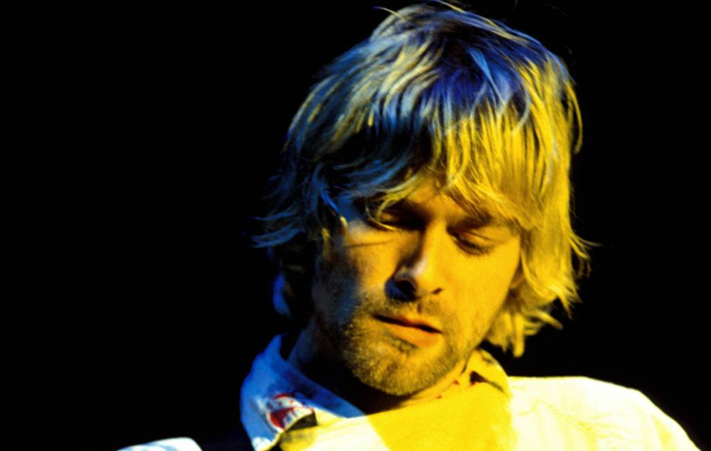 Nirvana's Kurt Cobain at Reading 1992