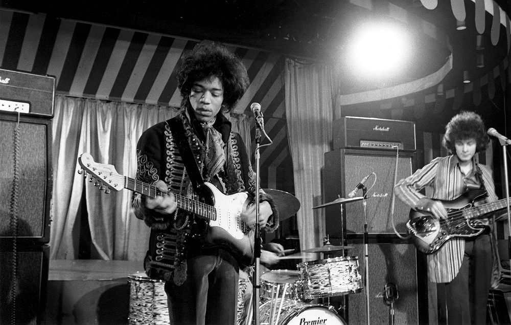 Jimi Hendrix live at The Marquee Club