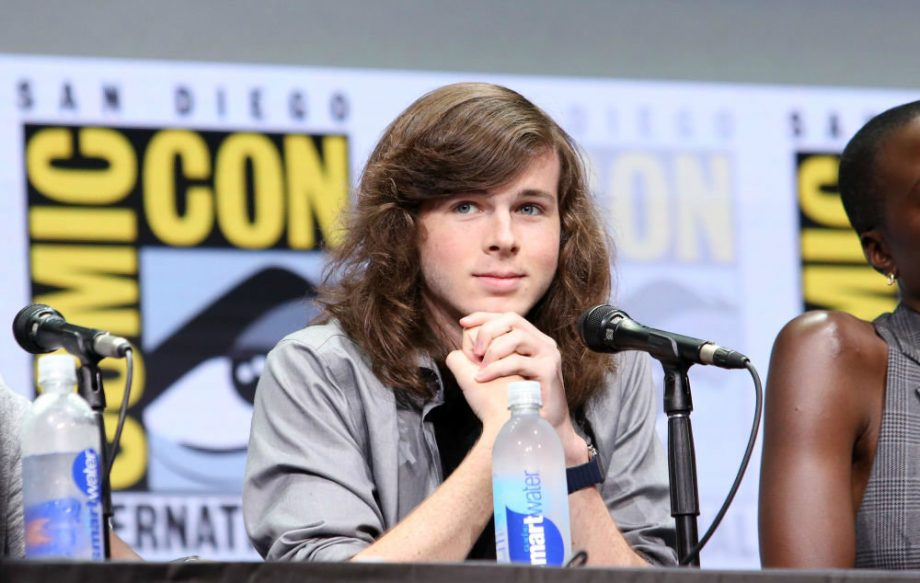 The walking dead season 8 clip teases meeting of carl and abbud chandler riggs m4hsunfo
