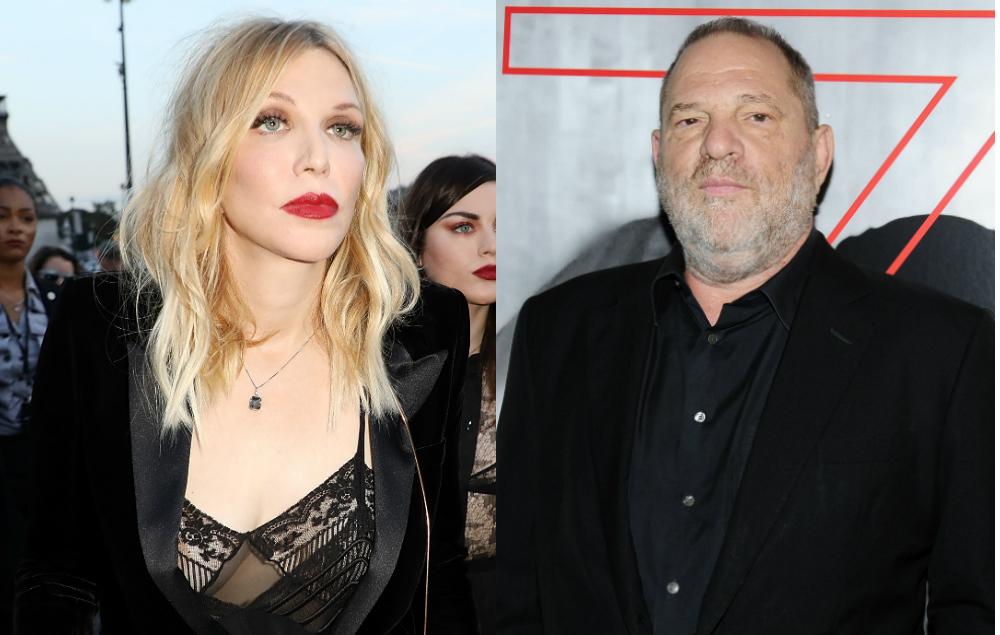 Courtney Love Was Warning Women About Harvey Weinstein