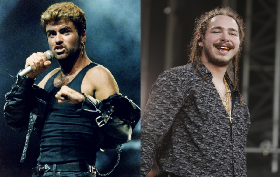 George Michael returns to number one in UK album chart as Post Malone holds on to singles top spot