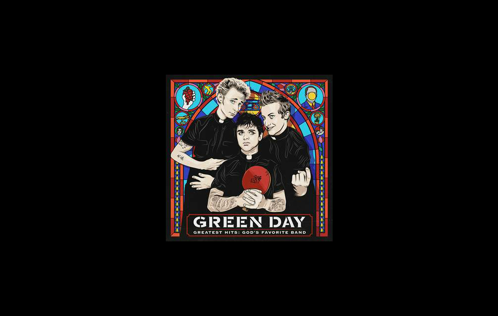 Green Days artwork for Gods Favourite Band