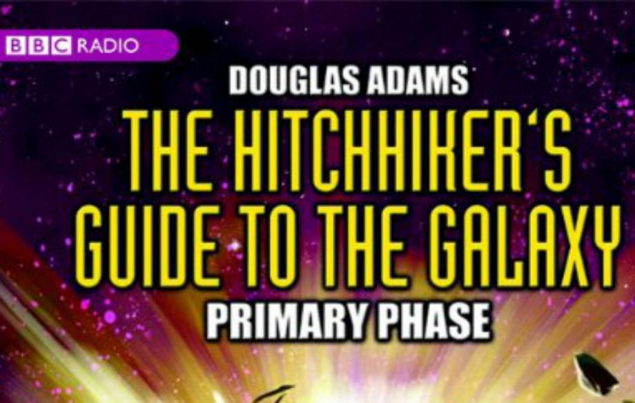 radio 4 hitchhikers guide to the galaxy