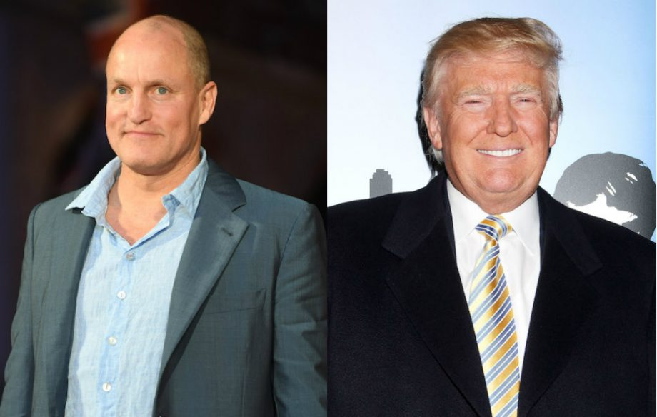 Woody Harrelson says he needed weed to get through dinner with Donald Trump