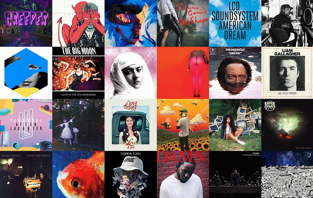 Best albums of the year 2017