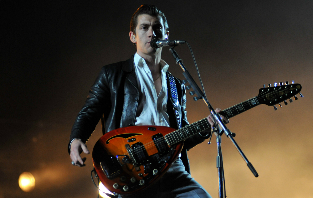 Alex Turner S Leather Jacket Added To The Rock And Roll