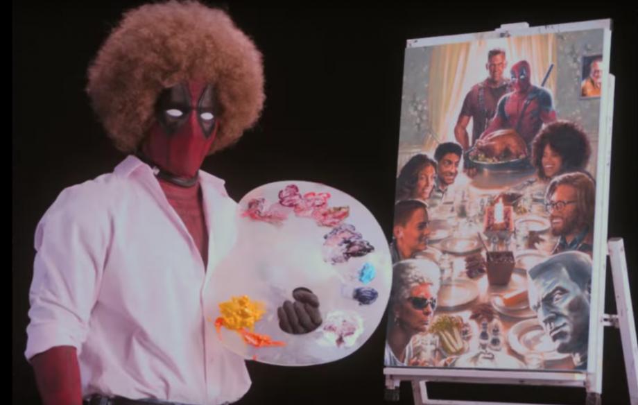 Watch New Deadpool 2 Teaser Featuring A Bob Ross Spoof Nme