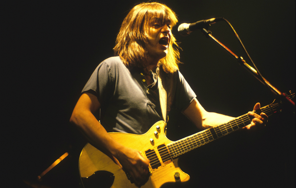 AC/DC guitarist Malcolm Young