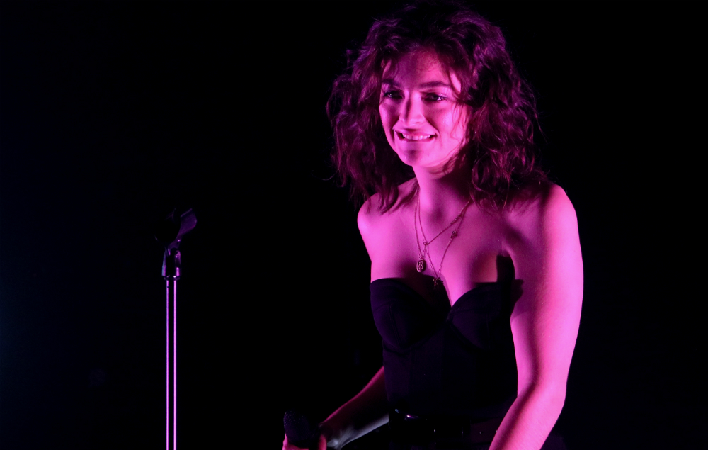 Lorde's album 'Melodrama' was actually hung in the Louvre ...
