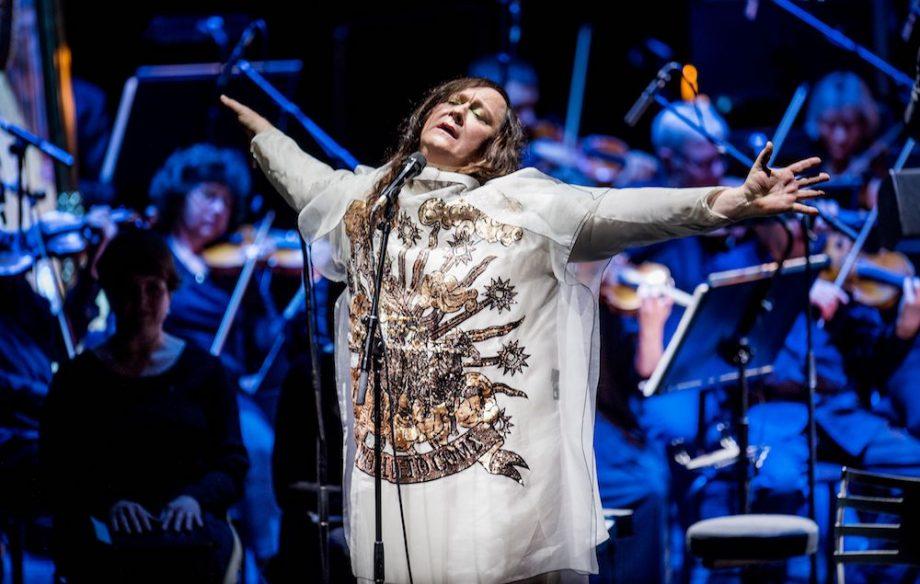 Resultado de imagen de Aarhus 2017 orchestra anohni