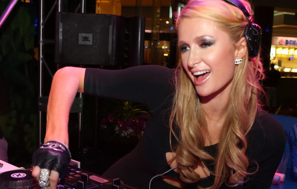 Paris hilton announces deep house techno pop new album for Pop house music