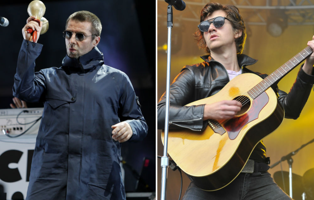 Liam Gallagher Hits Out At Alex Turner S American Accent