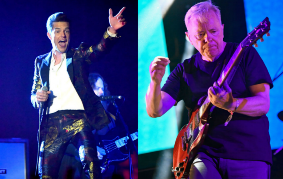 Watch Bernard Sumner join The Killers on stage during huge London show