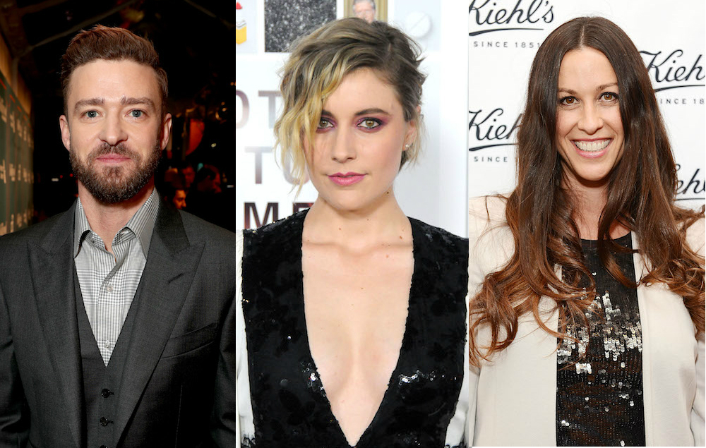 Read Greta Gerwig's letters to Justin Timberlake and