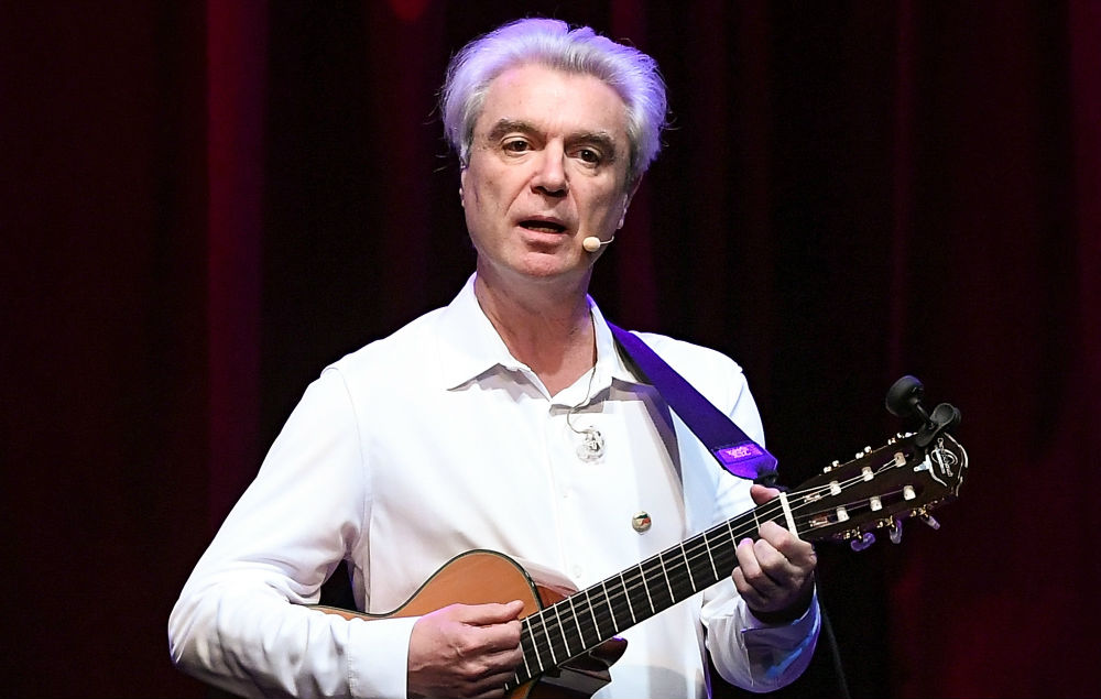 Watch David Byrne Cover David Bowie And Madonna With Choir