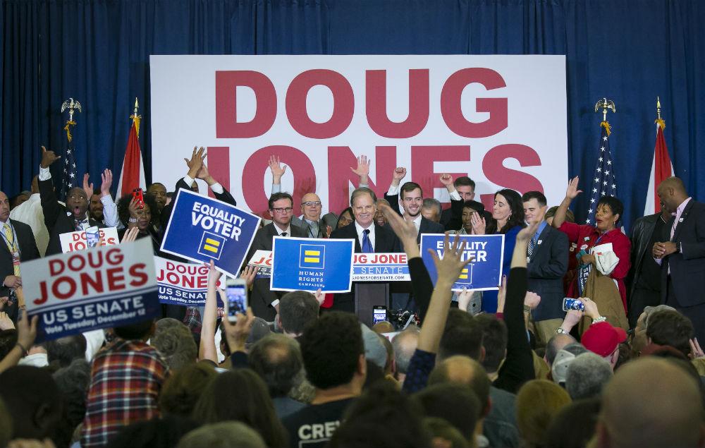Alabama election: Democrat Jones defeats Roy Moore in Senate upset