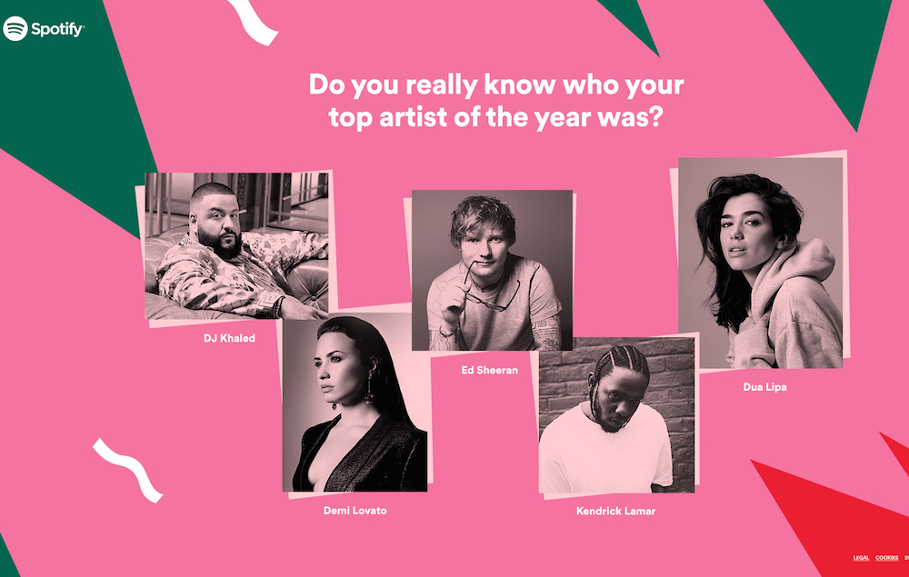 my top artists spotify