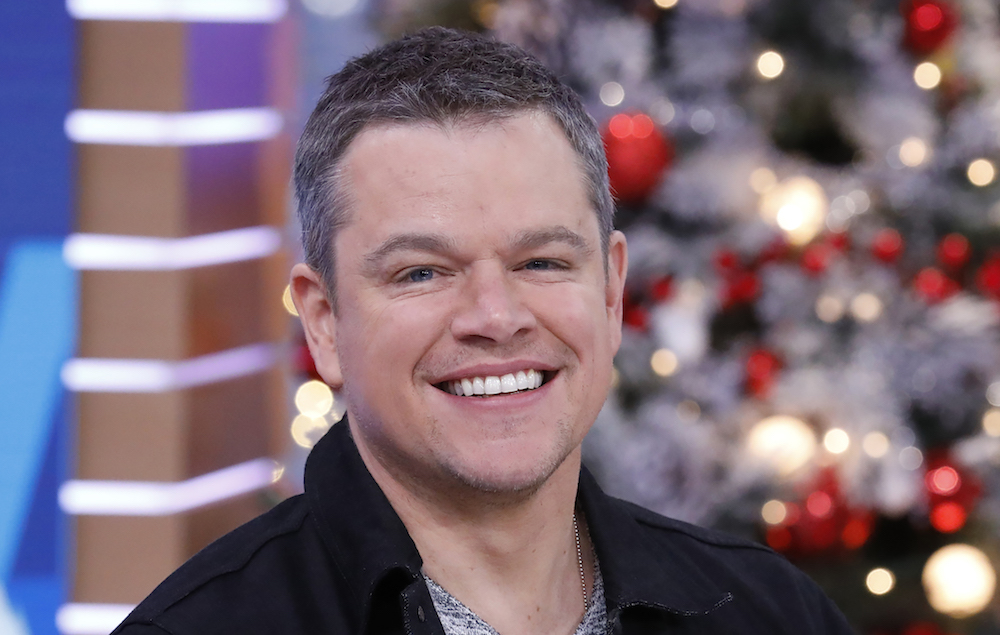 Matt Damon criticised ...