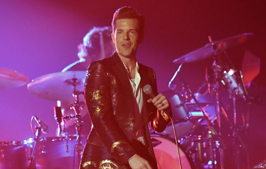 Watch The Killers deliver their own take on a classic Arcade Fire track