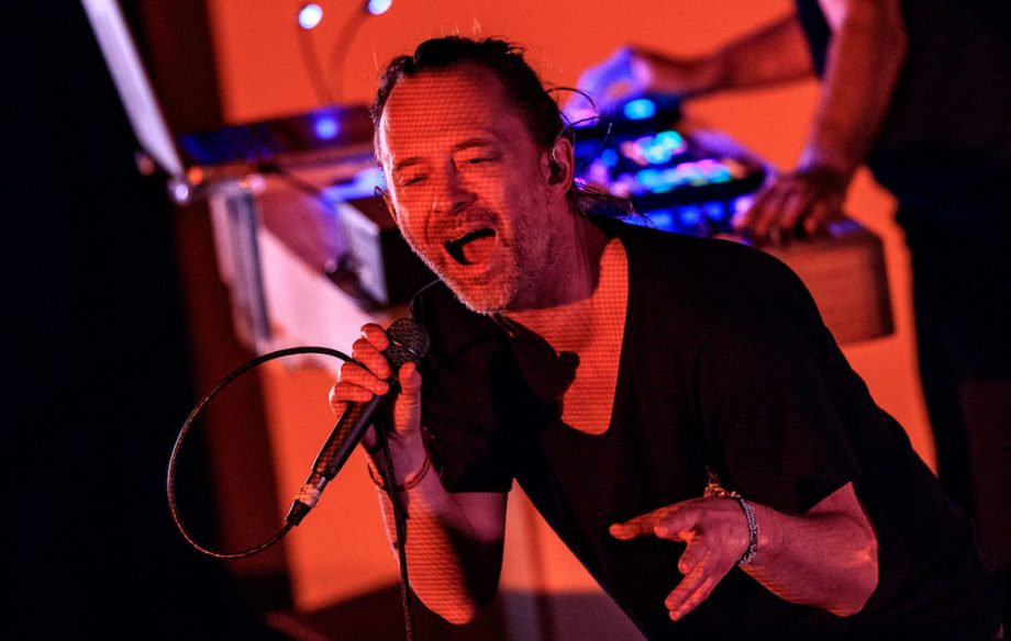 Thom Yorke, έπαιξε νέο τραγούδι σε προσωπικό σώου