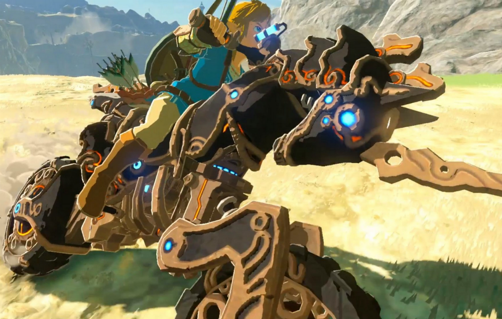 Zelda fans are seriously excited about link 39 s new motorbike - How do you get the master cycle zero ...