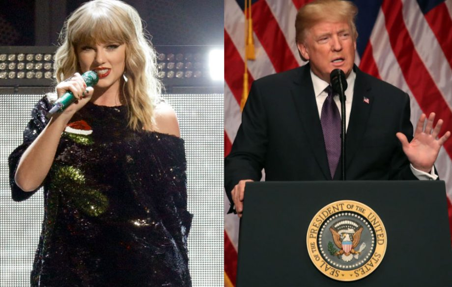 Discussion on Taylor Swift's new app turns political due to Trump supporters