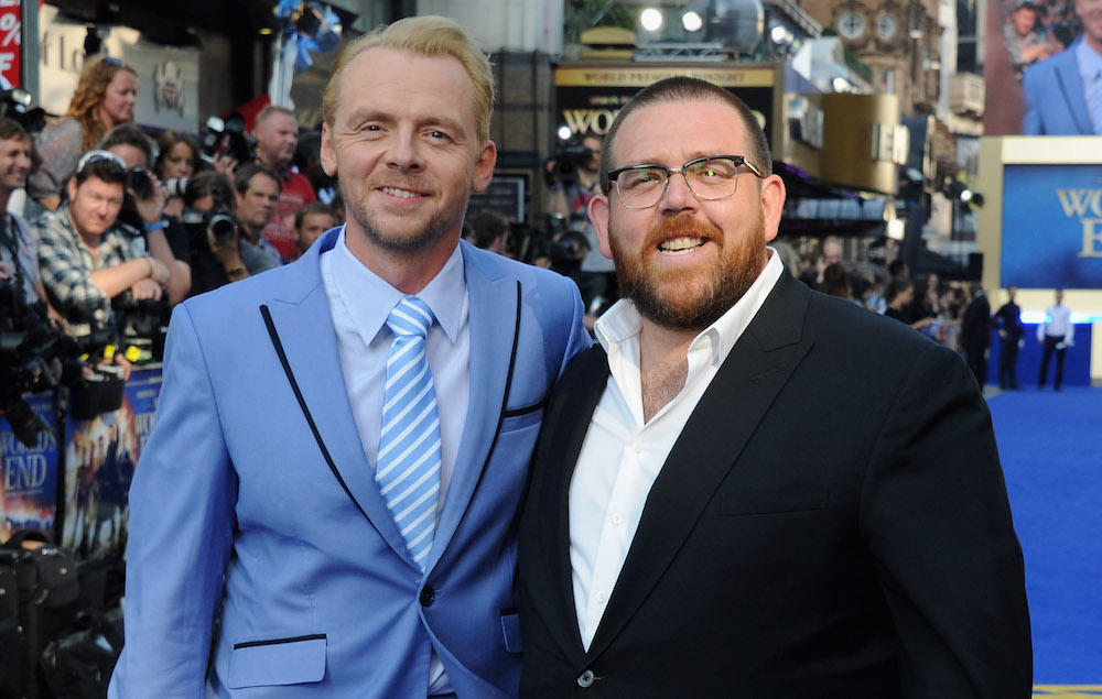 Simon Pegg and Nick Frost are working on a new horror ...