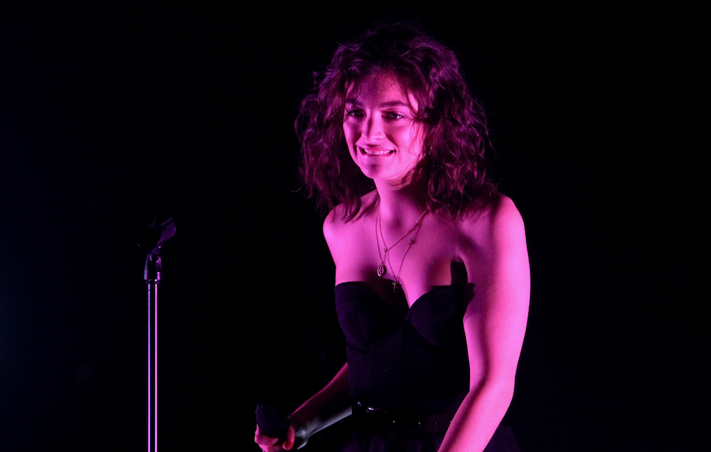Lorde says