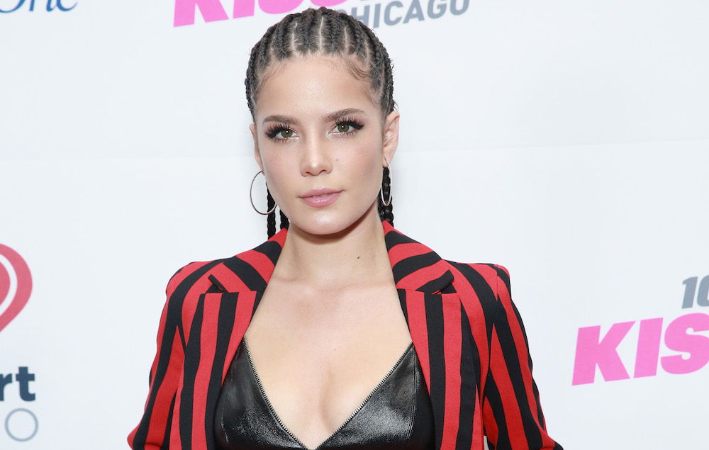 Watch Halsey deliver powerful and moving speech at New ...