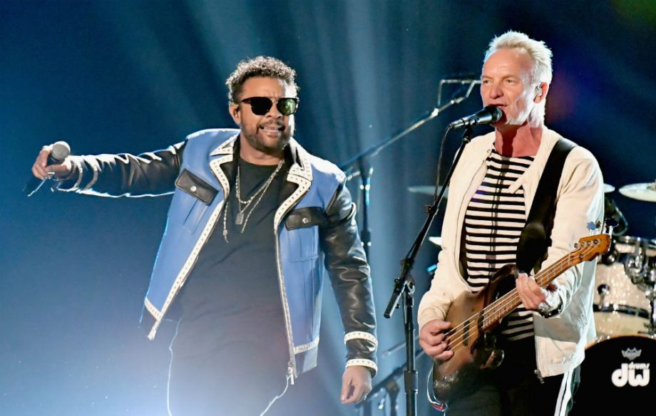 People were pretty confused about what Sting and Shaggy were doing