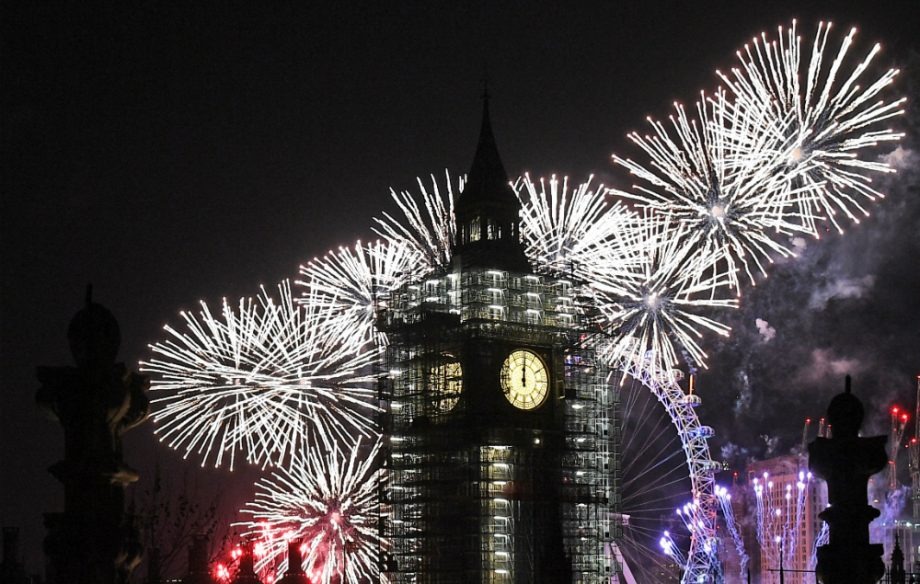 Where to go new years eve london