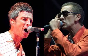 Noel Gallagher and Richard Ashcroft