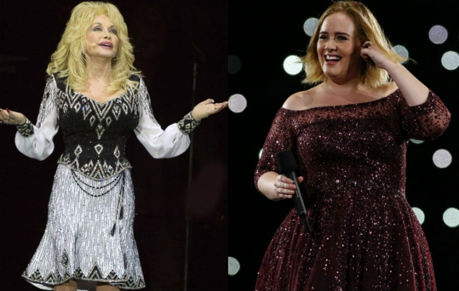 Dolly Parton And Adele Credit Getty