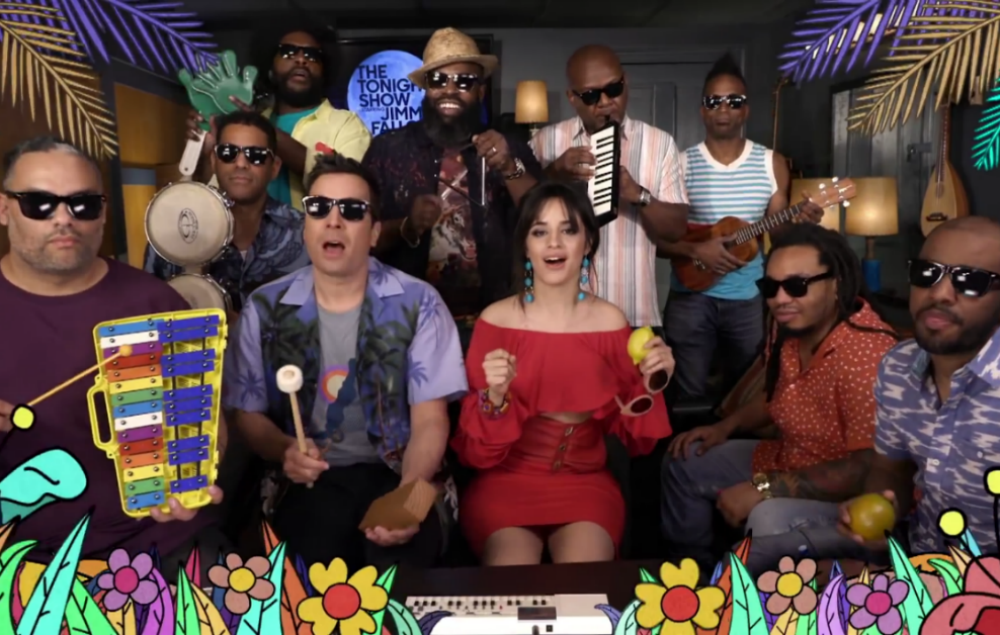 Watch Camila Cabello Jimmy Fallon And The Roots Perform
