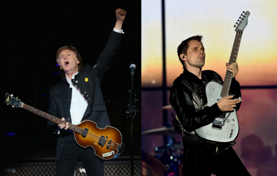 Sir Paul McCartney / Matt Bellamy