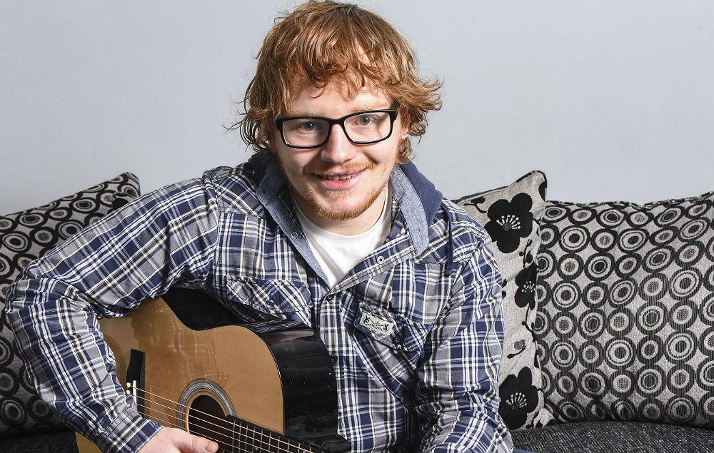 Ed Sheeran lookalike Wesley Byrne
