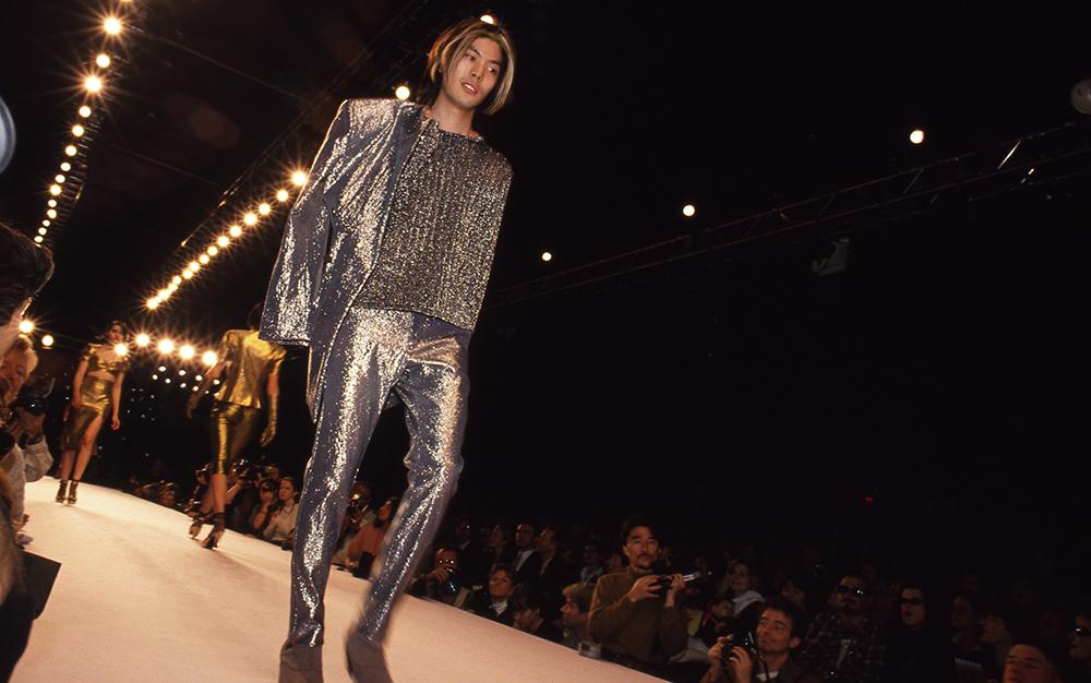 James Iha at a fashion show