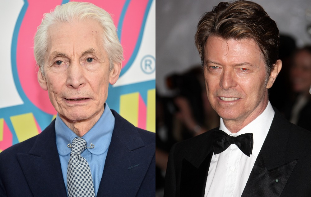 """Charlie Watts says David Bowie wasn't a """"musical genius"""" and it """"wouldn't bother"""" him if Rolling Stones split"""