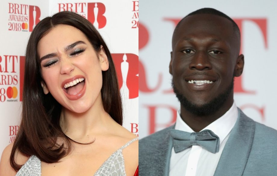 Stormzy and Dua Lipa winners of Brit Awards Brit Awards 2018 LIVE
