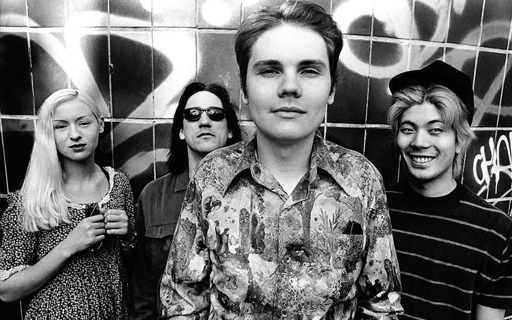 Smashing Pumpkins photographed in London. July, 1993