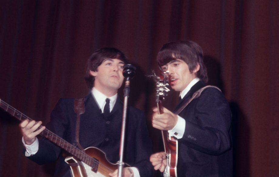 Sir Paul McCartney Wishes Late George Harrison Happy Birthday Credit Getty