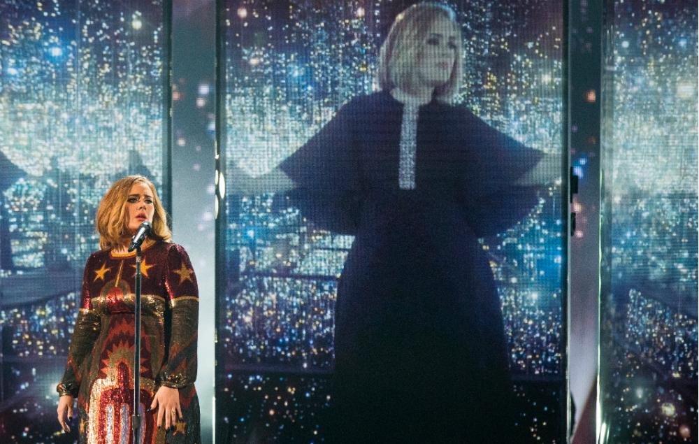 Adele, live